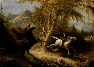 John Quidor - The Headless Horseman Pursuing Ichabod Crane