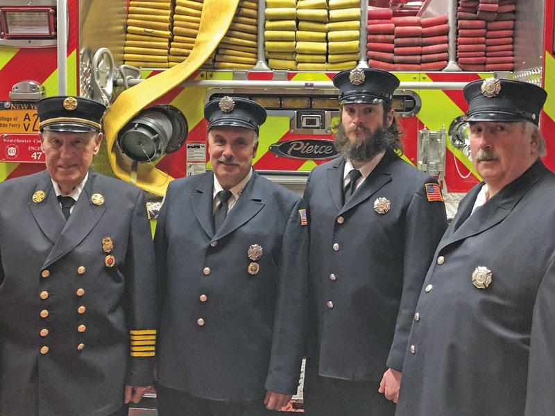 Dobbs Ferry fire fighters