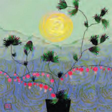 Peach Pair - artwork at ONA