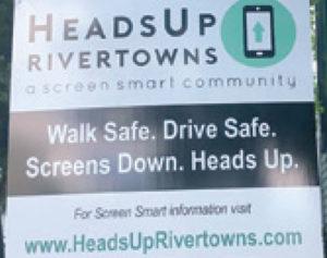 HeadsUp sign