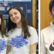 L-R: Sleepy Hollow High School Regeneron semifi nalists, Tess Kaplan and Samantha Livingston. Far Right: Rishit Gupta from Irvington High School.