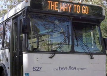 Bee-line bus in Westchester
