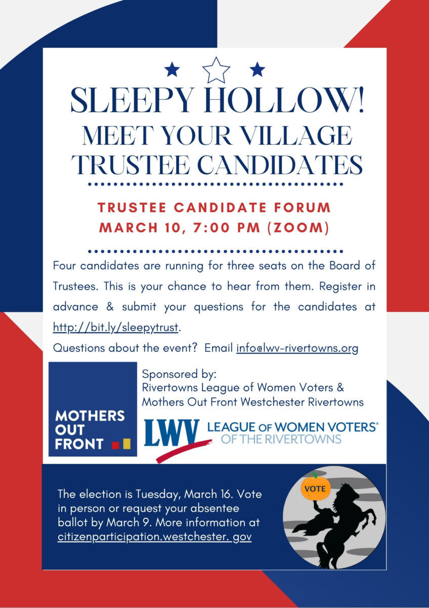 Sleepy Hollow Trustee Candidates
