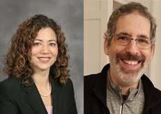 Irvington Democrats and Trustee candidates Arlene Burgos and Mitchell Bard