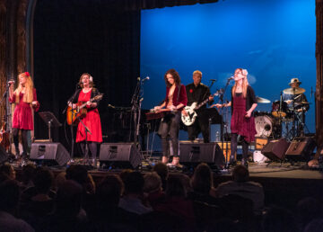 Music of Linda Ronstadt, a sold-out benefit concert for Parkinson's Disease research at Irvington Theater