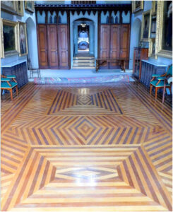Lynhurst in Tarrytown, NY - inlaid wood floor