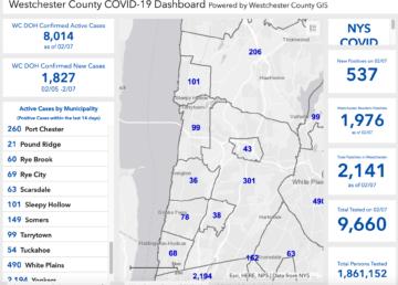 Westchester Covid update