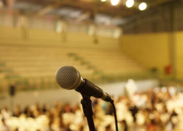 microphone at gym - westchester news