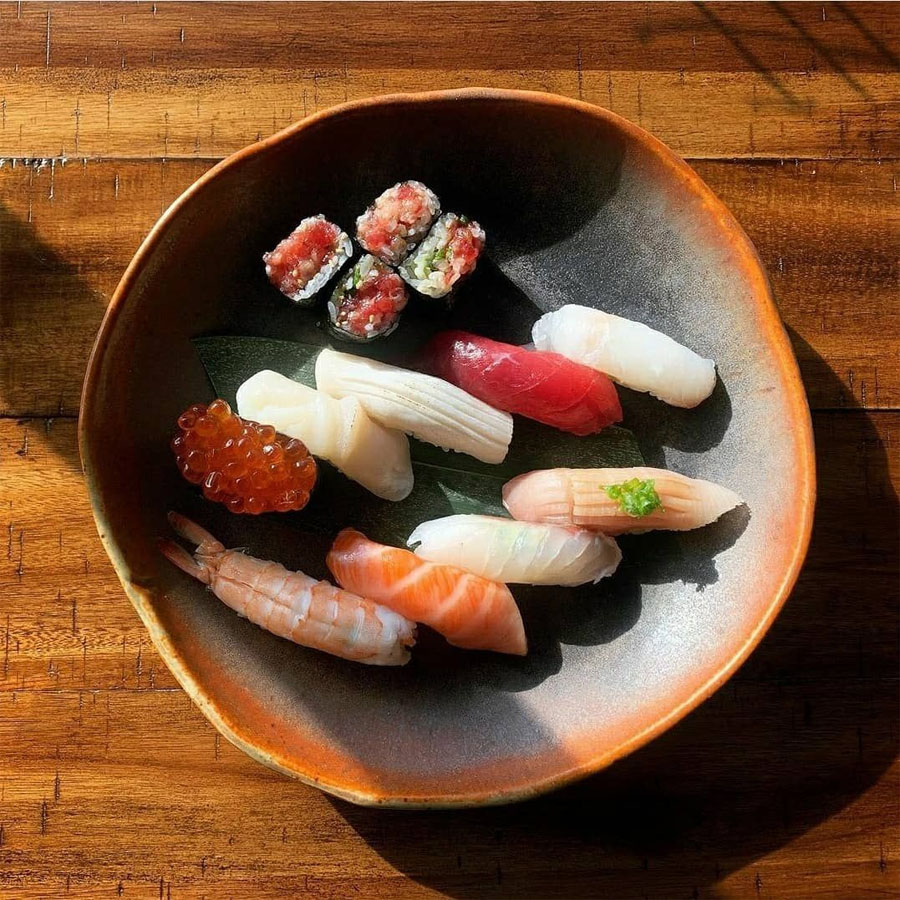 Makers Central - bowl with sushi