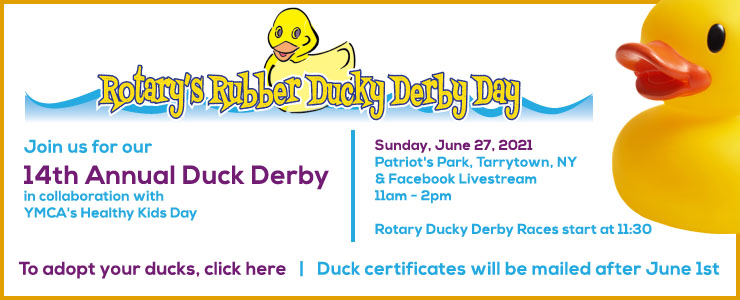Rotary Duck Derby in Tarrytown