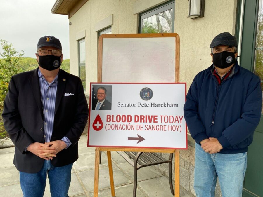 Harckham Sponsors Blood Drive in Sleepy Hollow