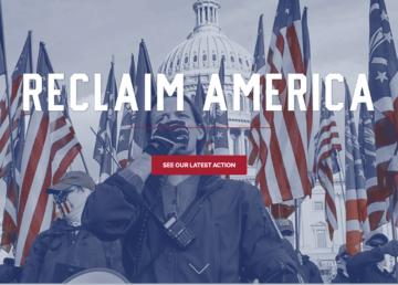 Reclaim America web home page