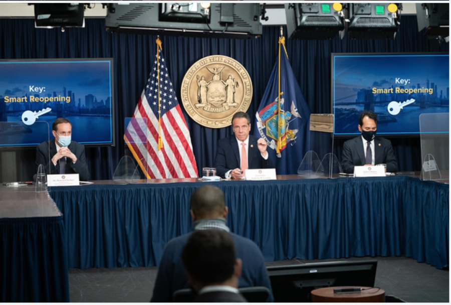 Cuomo And Neighboring Governors Announce Wholesale Lifting Of COVID Restrictions