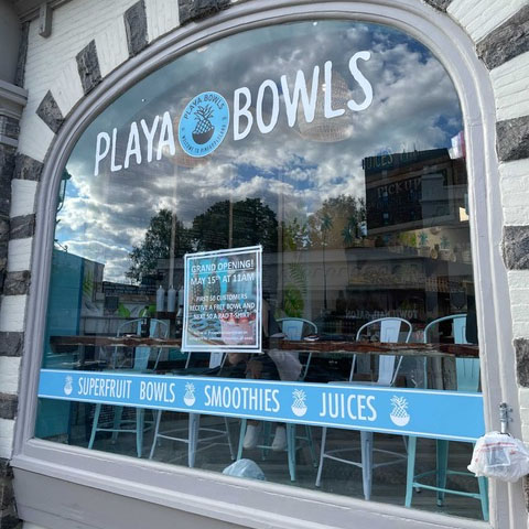 Playa Bowls Grand Opening Saturday, May 15 in Tarrytown