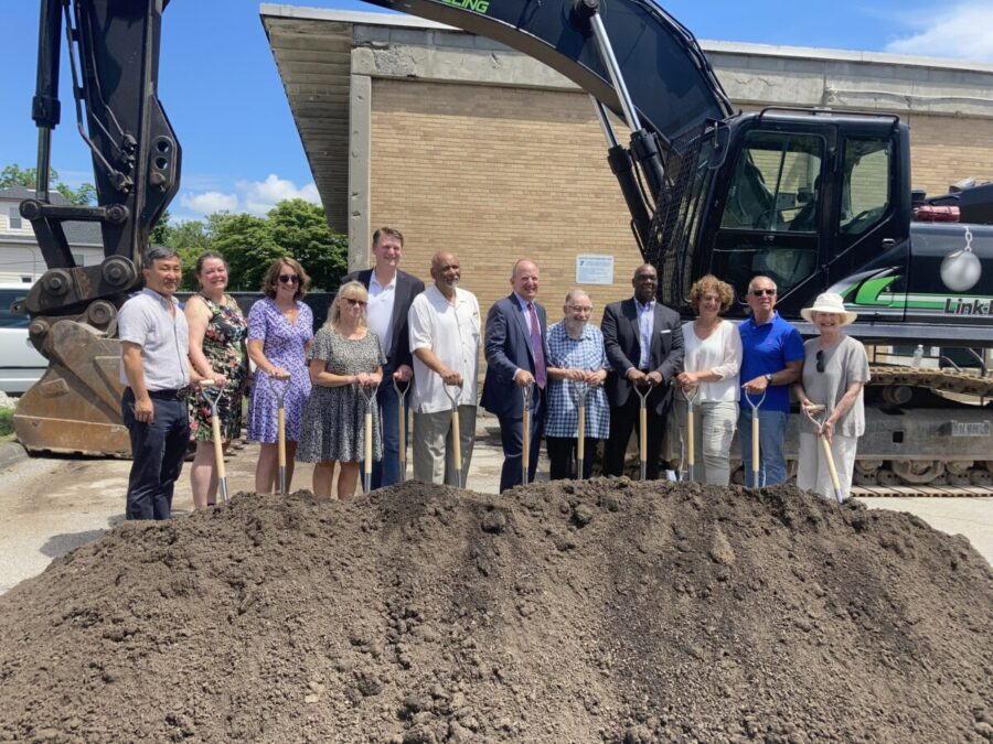 Groundbreaking Held for Affordable Housing Project at YMCA Facility
