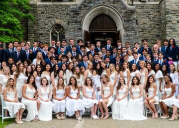 Masters School graduation 2021 in Dobbs Ferry