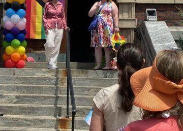 Irvington Town Hall Pride event