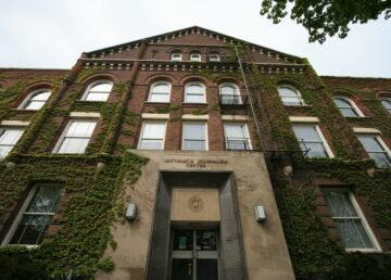 Fisk Hall, home of Northwestern University's Medill School of Journalism