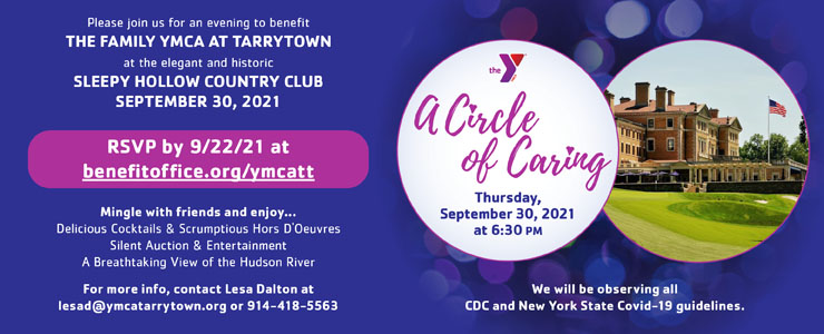 YMCA Circle of Caring event