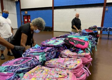 clover heating and cooling backpack distribution