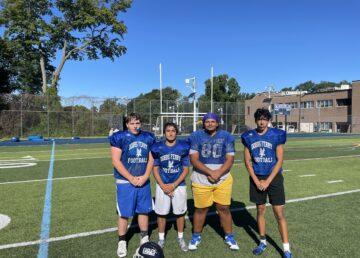 Dobbs Ferry Football players