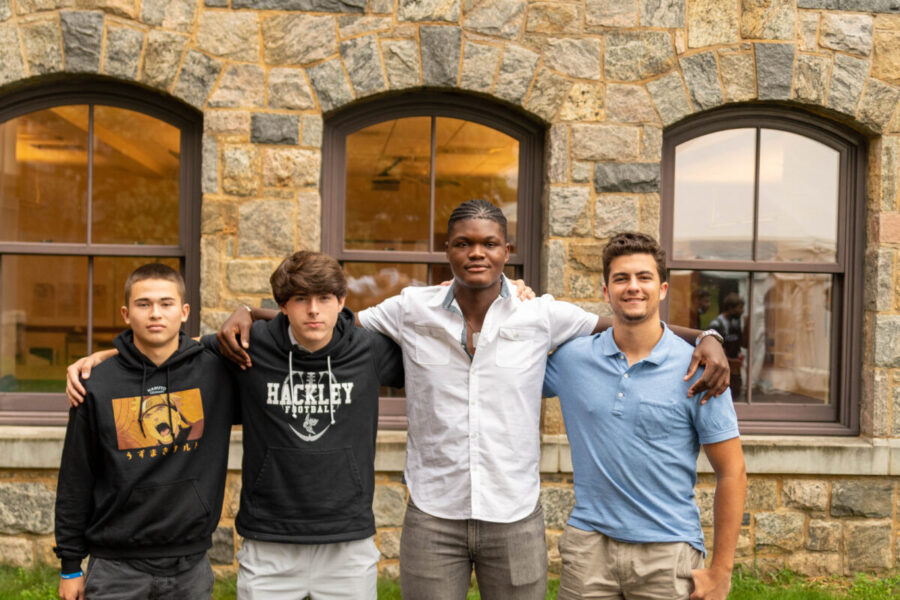 Hackley Football Team Aiming to Harness Talent