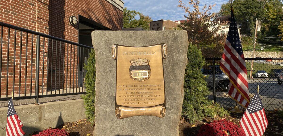 Tarrytown Police Unveil Memorial